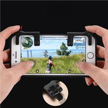 1 Pair Mobile Game Fire Buttons Aim Key Joystick Gaming Trigger L1R1 Shooter Controller For PUBG