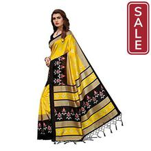 SALE-ANNI DESIGNERSilk Saree with Blouse Piece