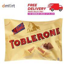 Toblerone Mini Pack Milk Choco Bars- 200g