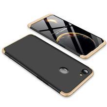 GKK 360° Protective Case For Oppo F7 -Gold/Black
