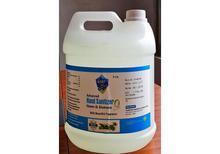 AMEET 5L  Advanced Gel Hand Sanitizer - Neem & Aloevera with Beautiful Fragrance