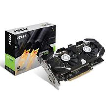 MSI NVIDIA GeForce GTX 1050 2GB GDRR5 128-bit HDCP Support DirectX 12 Dual Fan OC Graphics Card (GTX 1050 2GT OC)