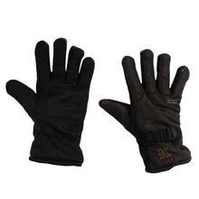 Inner Fur 'K' Imprinted Rubber Grip Hand Gloves For Men
