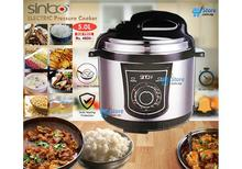 Sinbo Electric Pressure Cooker (5 Liters) - 1 year warranty