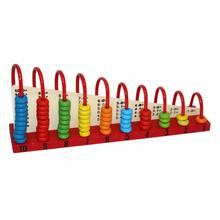 Multicolored Calculation Shelf Abacus For Kids