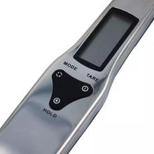 Stainless Steel LCD Digital Spoon Kitchen Scale 500g/0.1g