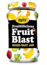 Apis Mix Fruit Jam, 450g Jar