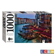 HINKLER Grand Canal At Dusk Venice, Italy 1000 Jigsaw Puzzle For Kids