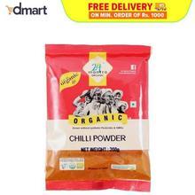 24 Mantra Organic Chilli Powder - 200g