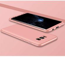 GKK 360° Protective Case For Samsung S8 Plus -Pink