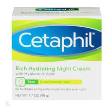 Cetaphil Rich Hydrating Night Cream with Hyaluronic Acid (48 gm)