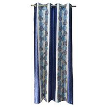 Suprimo Paat Blue Curtain