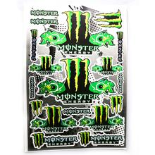 Decals (stickers) - Monsters (Type 2)