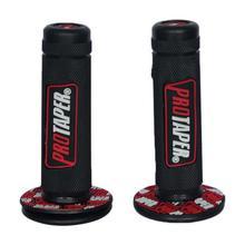 Black/Red Bike Handlebar Grips