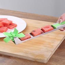 KHGDNOR Watermelon Cutter Windmill Shape Plastic Slicer