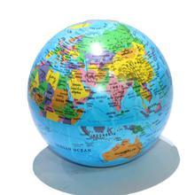 Blue/Multi-colored Magic Revolving Globe