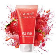 Lakme Blush And Glow Strawberry Gel Face Wash -100Ml