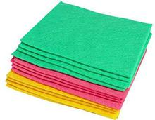 OKS Multipurpose Absorbent Cleaning Wipes (Assorted Colours) Set of 3