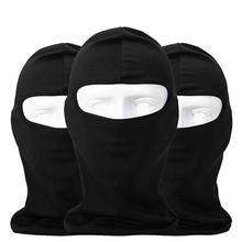 FashionieStore Face Mask Anti-fog Anti Respirator Anti Dust Haze Outdoor Ski Motorcycle Cycling Balaclava Full Face Mask Neck Ultra Thin 3 Pack