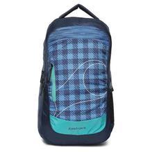Fastrack Blue Textured Laptop Backpack For Men -A0706NBL01