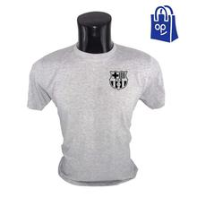 FC Barcelona Logo Chest Printed T-Shirts for Men