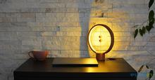 Heng Lamp Wooden Round