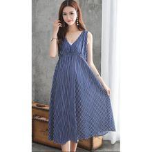 Summer Women Maternity Dresses for Pregnant Women Loose Clothing