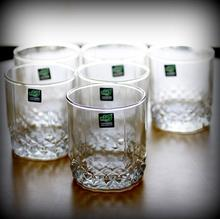 Green Apple Whiskey Glass JS-5002 (pack of 6)-(HUL1)