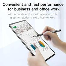 Baseus 2 in 1 Capacitive Touch Screen Stylus Pen Gel Pen for iPhone iPad