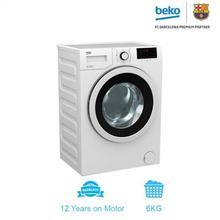 Front Loading Washing Machine 6kg - White (WMY 61031 PTY B3)