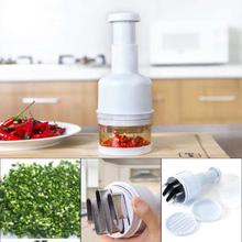 Chopper Pressing Cutter - Vegetable Food Onion Garlic Slicer Peeler Dicer Mince