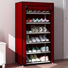 6 Layers Shoe Rack Portable and Folding (60 x 30 x 108 cms)