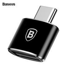 Baseus USB Type C OTG Adapter USBC Type-c OTG Converter For Xiaomi mi 8 6 mix3 One Plus 6t 6 5 Huawei Mate 20 Pro USB C Adapter