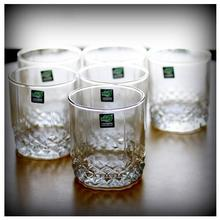 BUY Deli Whiskey 1 Glass Set Of 6 Glasses JS-5002 And Get Another Set Free