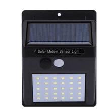 SOLAR MOTION SENSOR LIGHT 20 LED