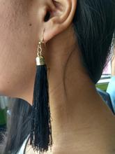 Black  Tassel Earrings For Women