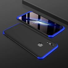 GKK 360° Protective Mobile Case For Vivo V9/Y85 -Blue/Black