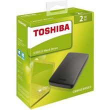 Toshiba External Hard Disk Drive- 2TB Portable Canvio (1 yr warranty)
