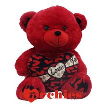 Lovely Red Love Teddy Bear