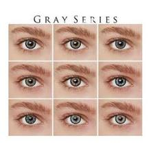 Contact Lens In Misty Grey Color
