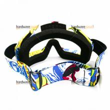 Helmet Goggles Motorcycle Motocross off Road Riding Sports Snowboard Goggles Transparent for dirt helmet