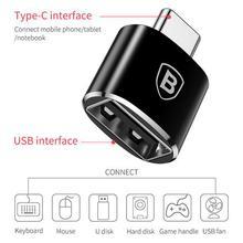 Baseus Type C Male to USB Female OTG Adapter Type-c OTG Converter Charger Plug Adapter Converter for USB Female to Type-C Male