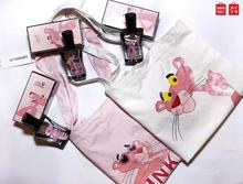 Miniso Pink Panther Perfume Combo Gift Set For Her (Mother, Sisters, Friends,) - Perfume, Canvas Bag