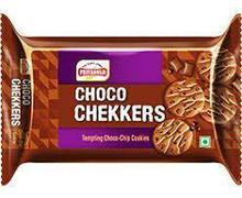 Priyagold Choco Chekkers Choco-Chip Cookies, 90gm