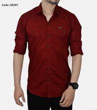 Men Fashion Double Pocket Shirt