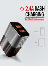 LDNIO A2206 Dual USB Adaptive Travel Charger