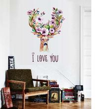'I Love You' Home Decor Wall Stickers (mws9145)