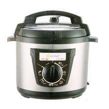 Electron MRC-E15 5L Electric Pressure Cooker - (Silver/Black)