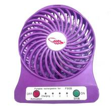 Mini Portable Rechargeable Fan With Speed Control