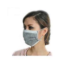 10 Pcs Disposable Earloop Face Filter Mask- Grey
